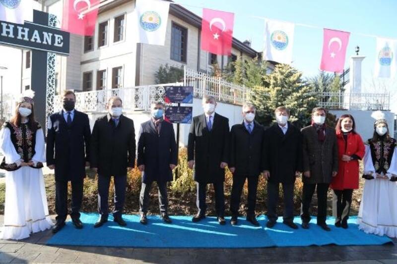Kazakistan dostluğu Gölbaşı'nda pekişti