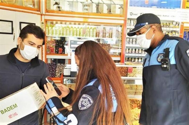 Süleymanpaşa'da zabıtadan yılbaşı denetimi