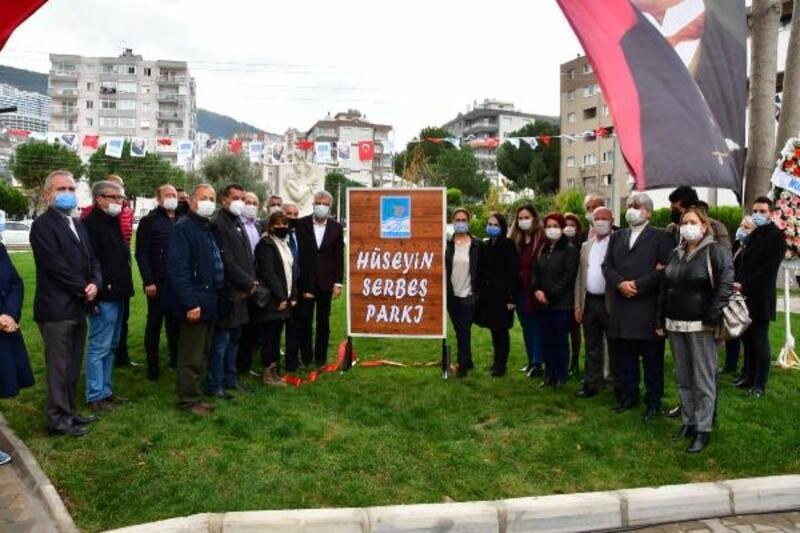 Narlıdere'de Hüseyin Serbeş Parkı açıldı!