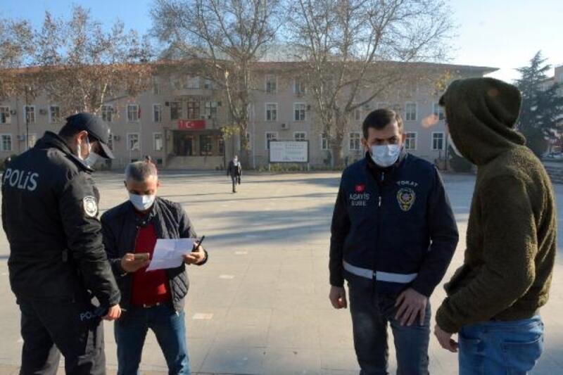 Tokat'ta tedbirlere uymayan 28 kişiye ceza