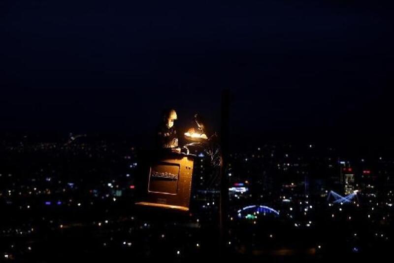 UEDAŞ ekipleri, yeni yılı kesintisiz enerji mesaisiyle karşıladı