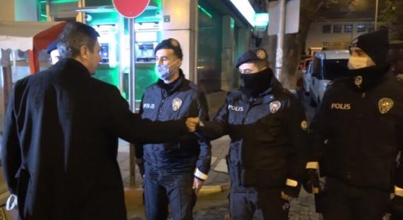 Müdür Temiz'den, polise moral ziyareti