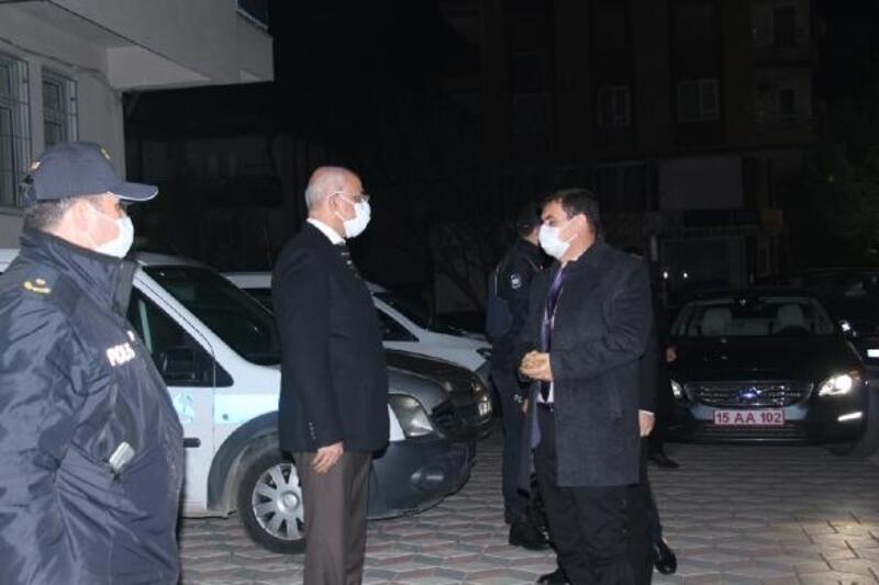 Burdur Valisi Arslantaş, yeni yılı Bucak'ta karşıladı