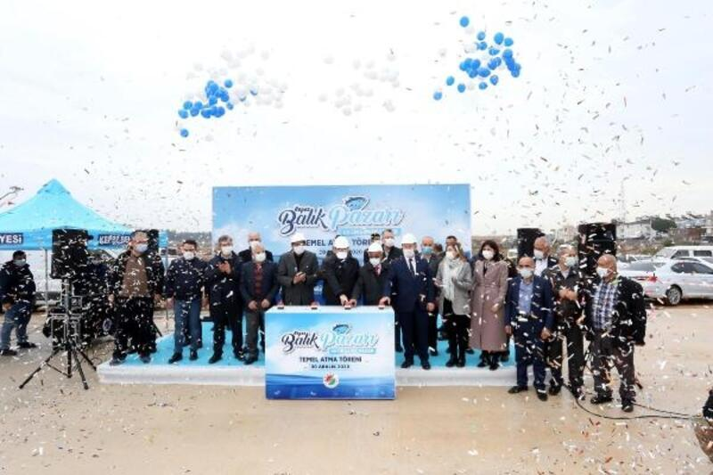 Kepez Dokuma'da 'Balıkçılar Çarşısı'nın temeli atıldı
