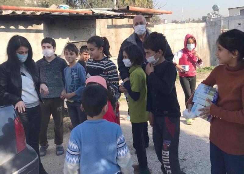 Mezitli'de çocuklara devam sütü