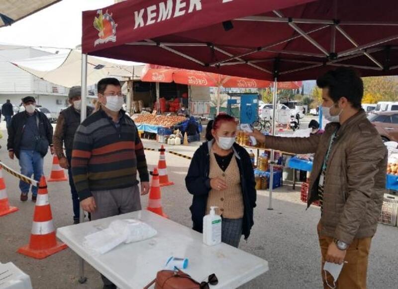 Kemer Belediyesi'nden koronavirüsle mücadele
