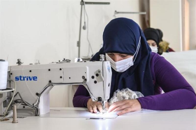 Mülteci kadınlar ev ekonomilerine katkı sağlayacak