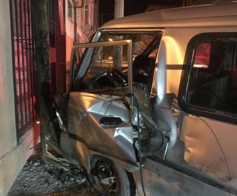 Bolvadin'de kaza: 1 yaralı