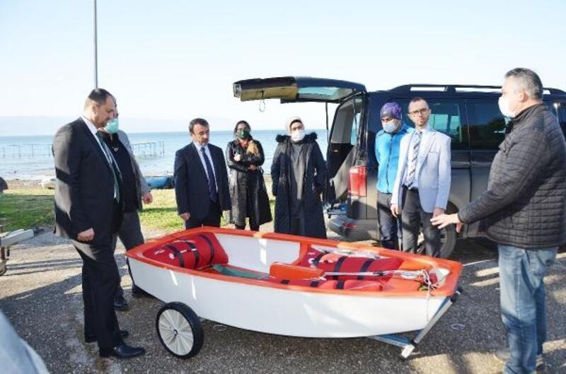 İznik Gölü, 30 yıl sonra yeniden Optimist Yelken Sporu ile buluştu