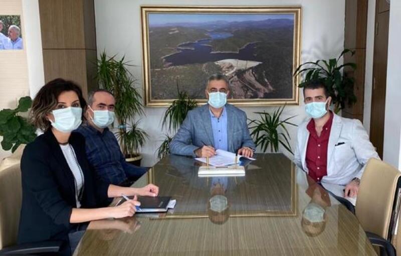 Çardak Topsurlar Göleti ikmali sözleşmesi imzalandı
