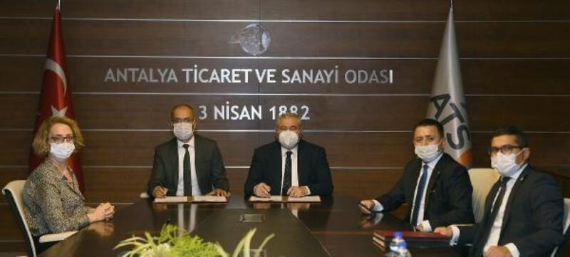 ATSO ve Halkbank'tan KOBİ'leri rahatlatacak anlaşma
