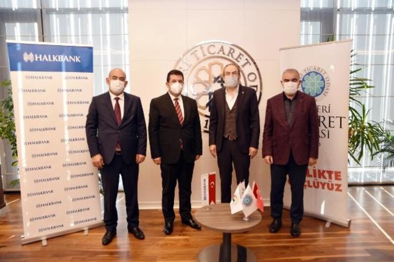 KTO ile Halkbank arasında protokol imzalandı