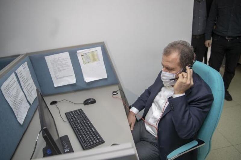 TEKSİN'de 372 bin 453 çağrı karşılandı