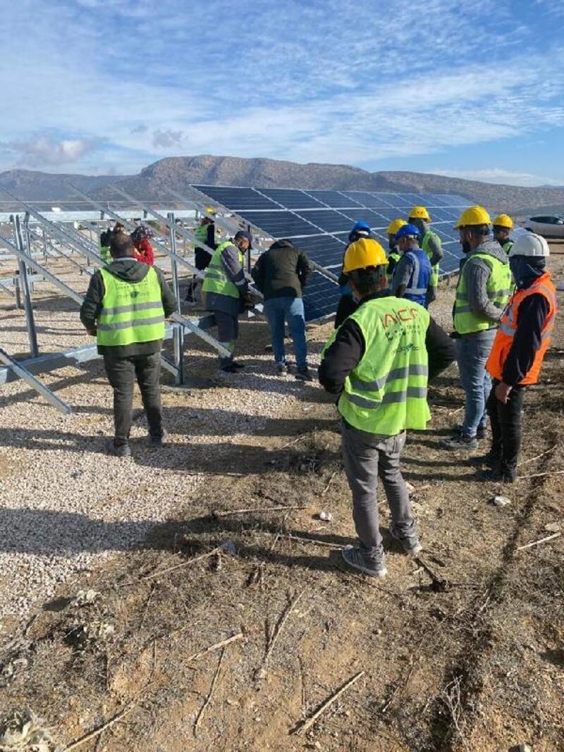 Büyükşehir'in kurduğu GES, 550 konutun yıllık elektrik ihtiyacını karşılayacak