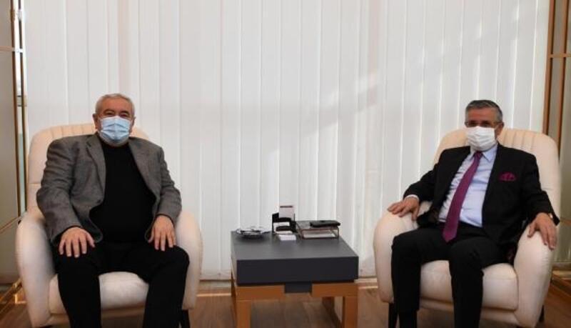 Başkan Topaloğlu'dan, ATSO Başkanı Çetin'e ziyaret