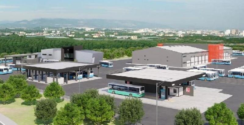 Büyükşehir'den toplu taşıma için yeni yerleşke