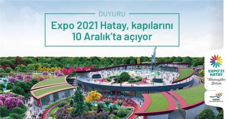 Expo 2021 Hatay, koronavirüs nedeniyle ileri tarihe ertelendi