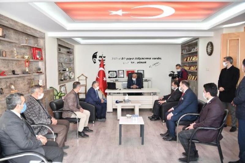 Başkan Büyükkılıç'tan Özvatan'a ziyaret