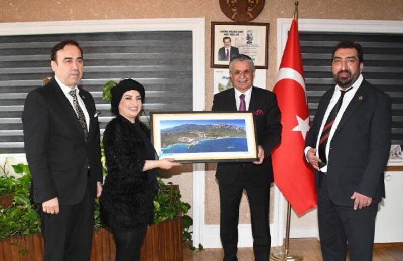 ATİK Başkanı Şahin'den Başkan Topaloğlu'na ziyaret