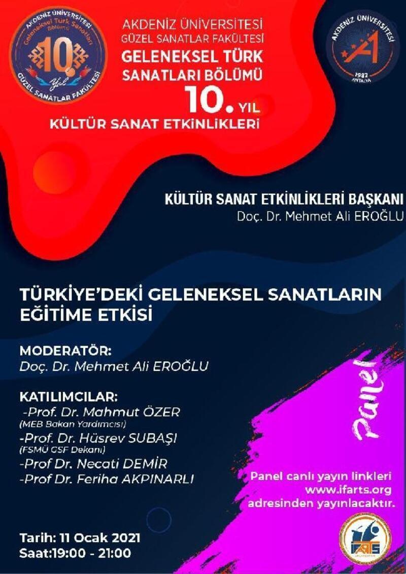 GSF'den ulusal ve uluslararası kültür-sanat etkinlikleri