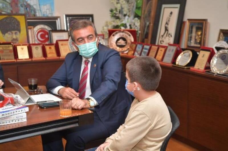 Mehmet sordu Başkan Çetin cevapladı