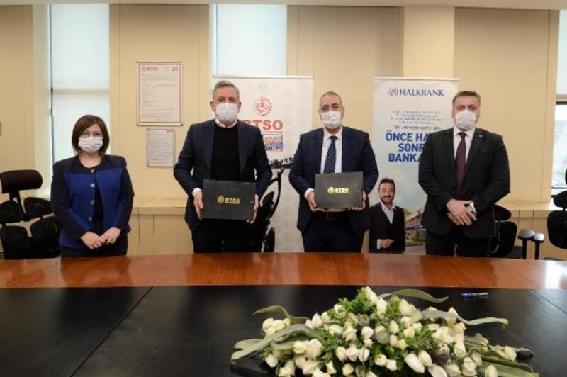 BTSO, Halk Bankası ile protokol imzaladı