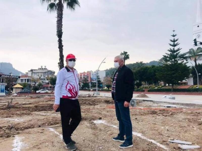 Başkan Topaloğlu, Atatürk Parkı'nı inceledi