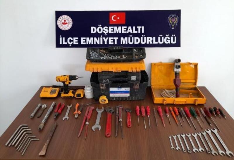 Döşemealtı'nda 2 ayda 27 hırsızlık şüphelisi yakalandı