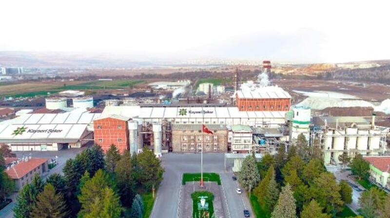 Kayseri'de Şeker'de 528 bin ton şeker üretildi