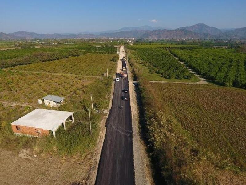 Muğla'da geçen yıl 130 kilometrelik yol çalışması
