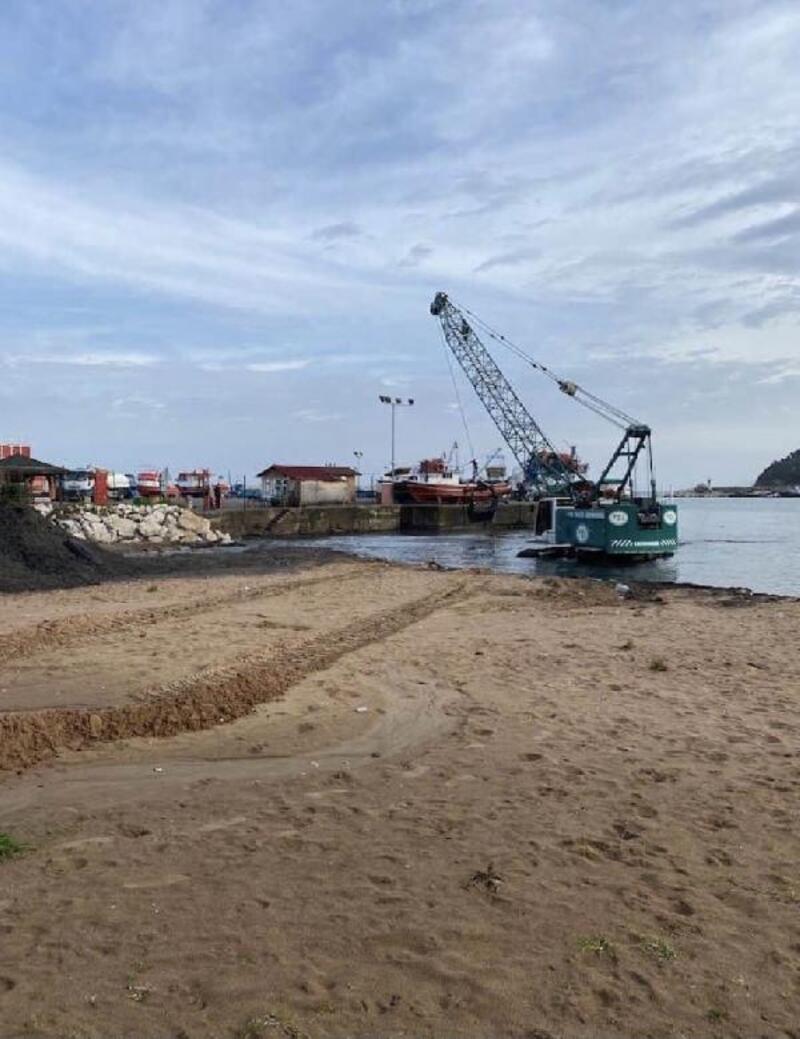 Liman temizliği başladı