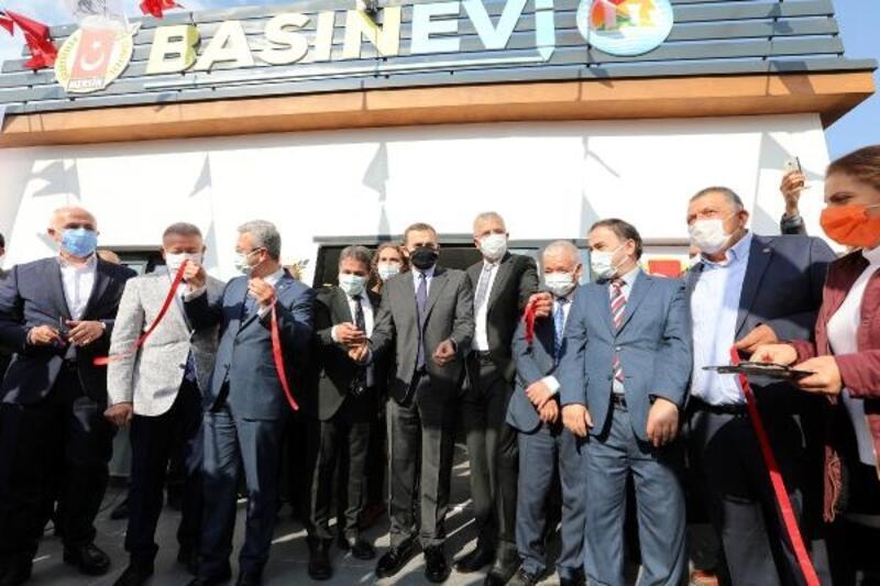 Mezitli Belediyesi Basın Evi açıldı