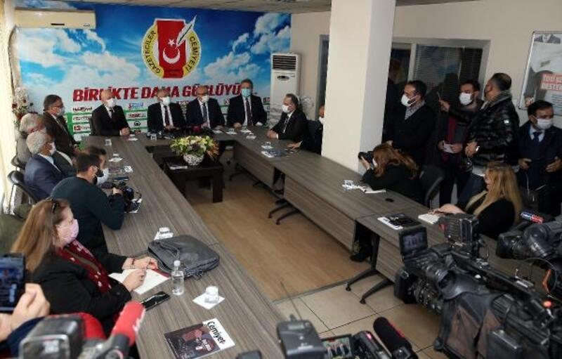 Belediye başkanlarından KGC'ye ziyaret
