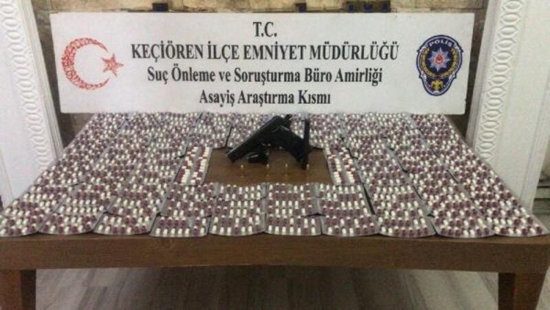 Ankara'da uyuşturucuya 1 tutuklama