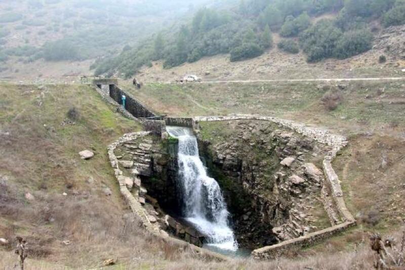 Bucak'ta düdenlerde su azaldı