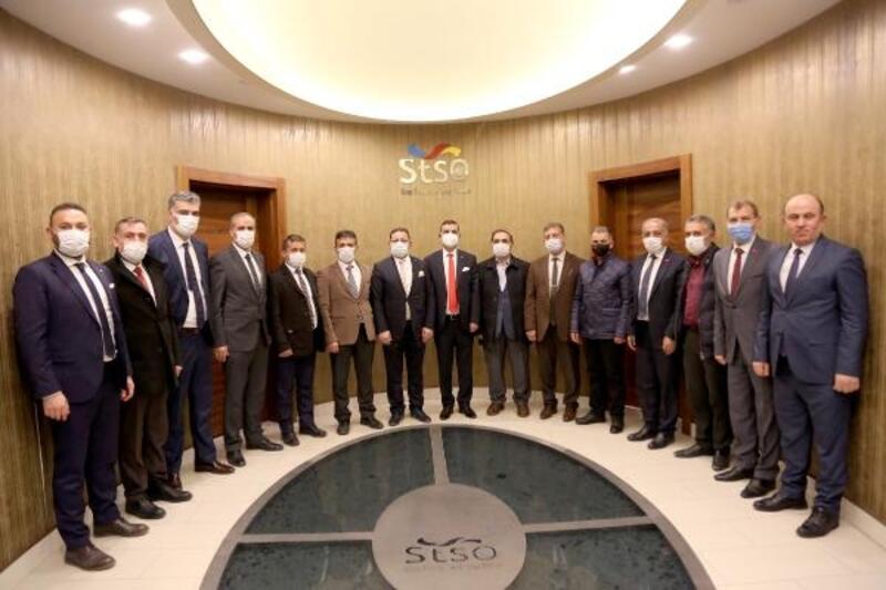 Esnaf Kooperatifi başkan adayı Dursun'dan STSO'ya ziyaret