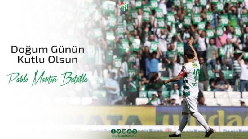 Bursaspor'dan Batalla paylaşımı