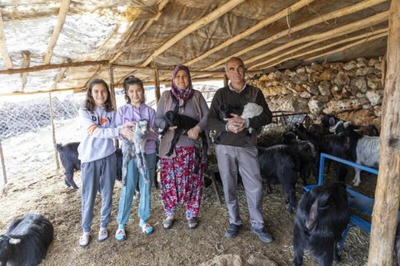 'Haydi Gel Köyümüze Destek Verelim Projesi' yeni doğumlarla büyüyor