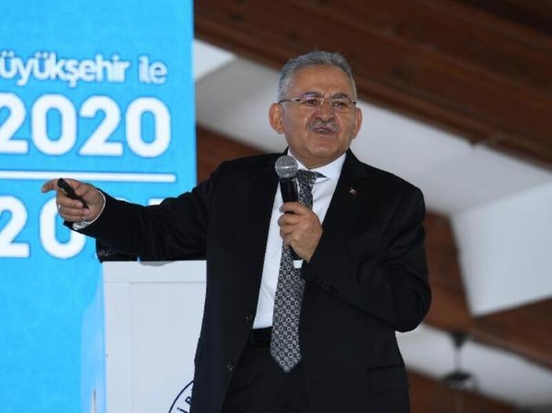 Başkan Büyükkılıç, 2020 yatırımlarını, 2021 hedeflerini anlattı