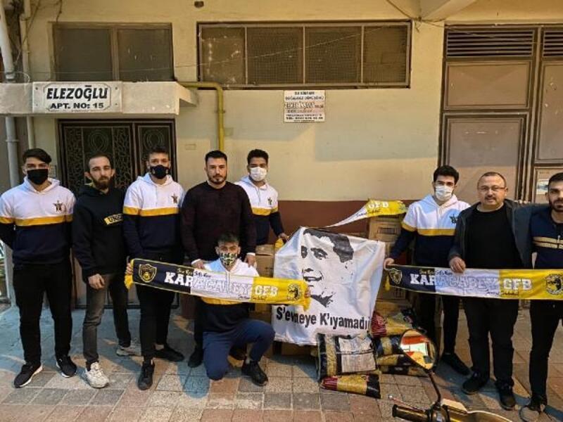Genç Fenerbahçeliler erzak yardımına devam ediyor