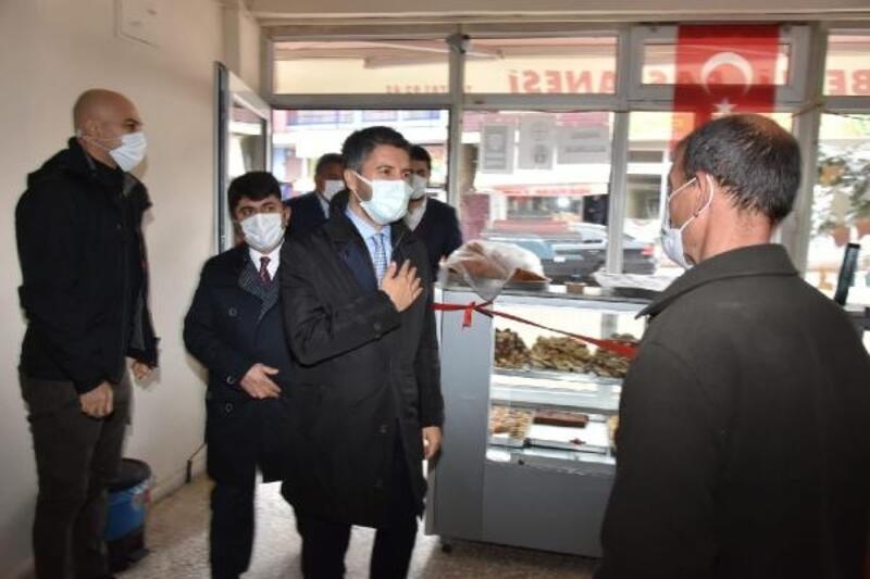 Başkan Mehmet Ay'dan ilçelere ziyaret