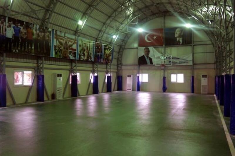 Serik Güreş Eğitim Merkezi yenileniyor
