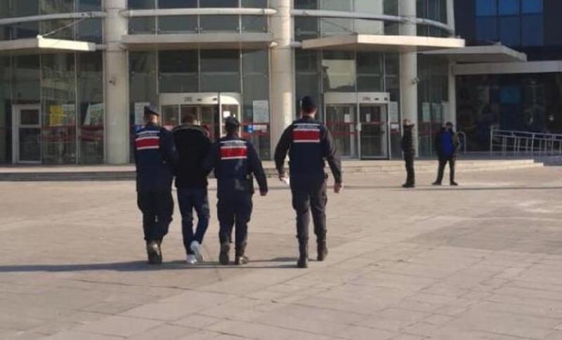 Kayseri'de hırsızlık şüphelisi yakalandı