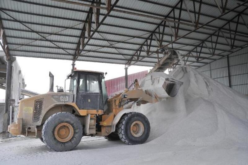 Nevşehir'de kaya tuzuna talep arttı