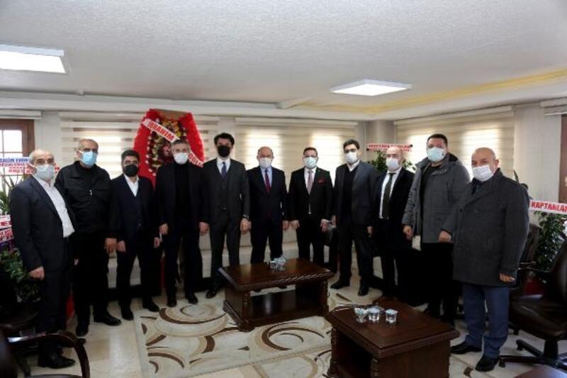 STSO'dan siyasi partilere ziyaret