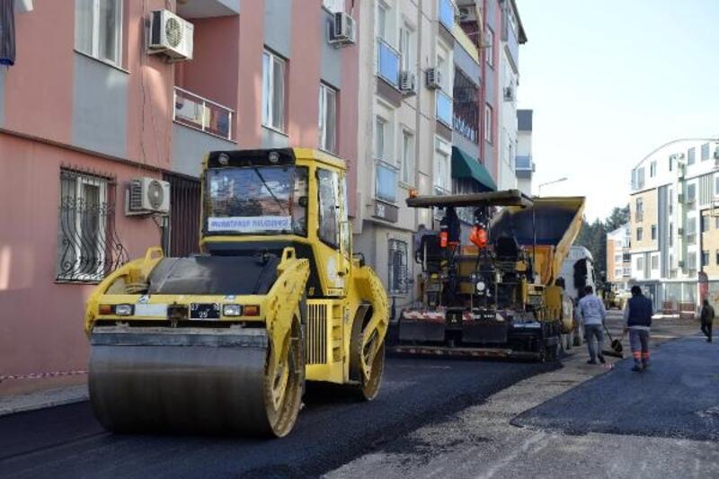 Yüksekalan'da çalışmalar sokak sokak devam ediyor