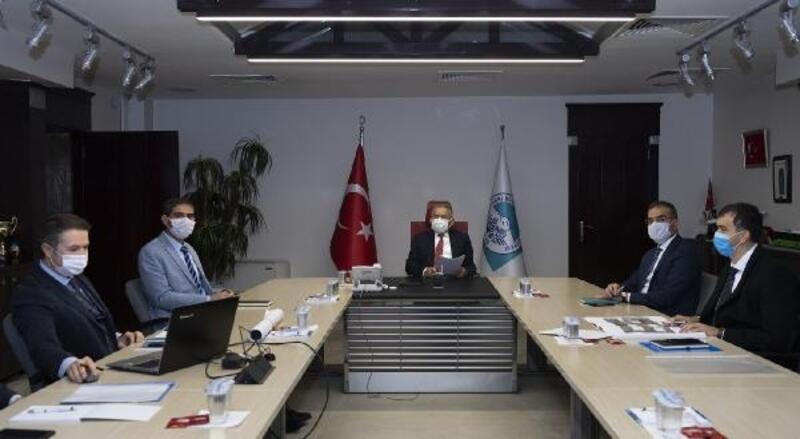Büyükşehir'de 'Yüksek İrtifa Kamp Merkezi' toplantısı