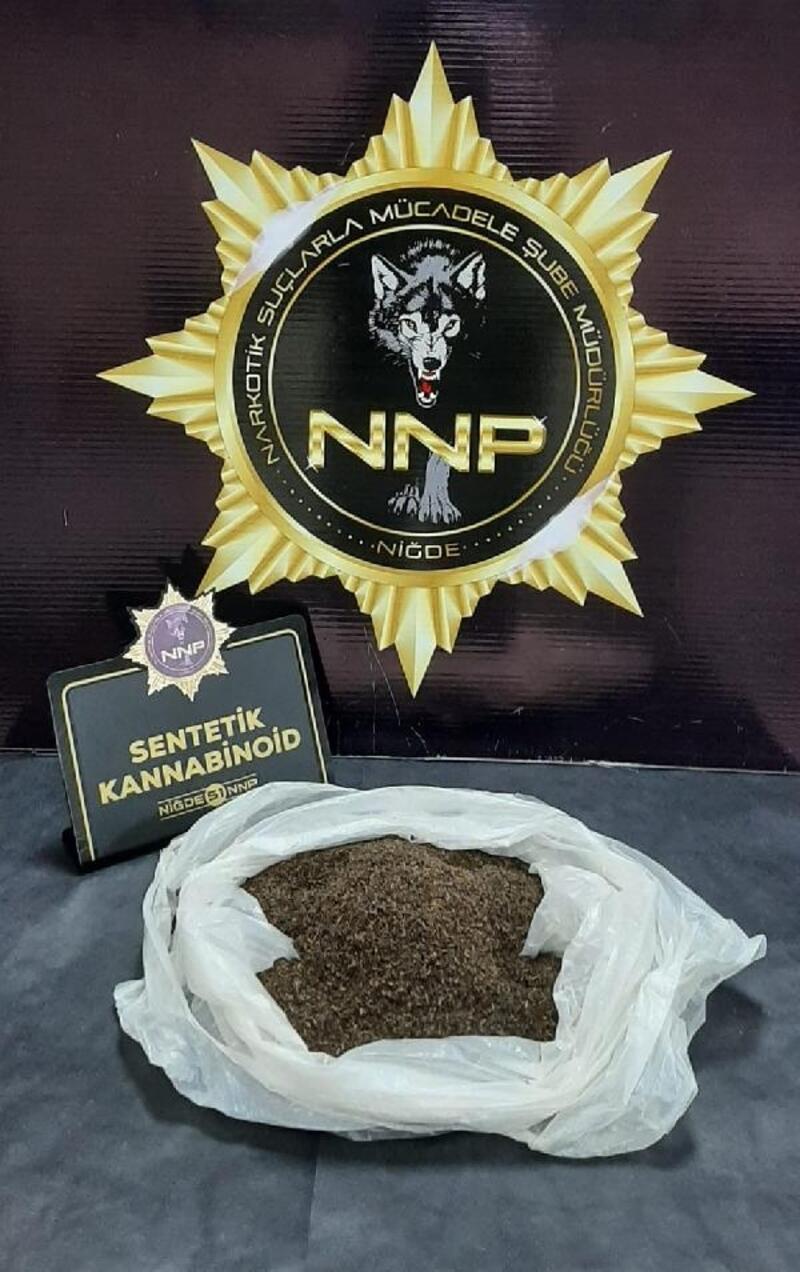 Niğde'de uyuşturucu operasyonu: 8 gözaltı