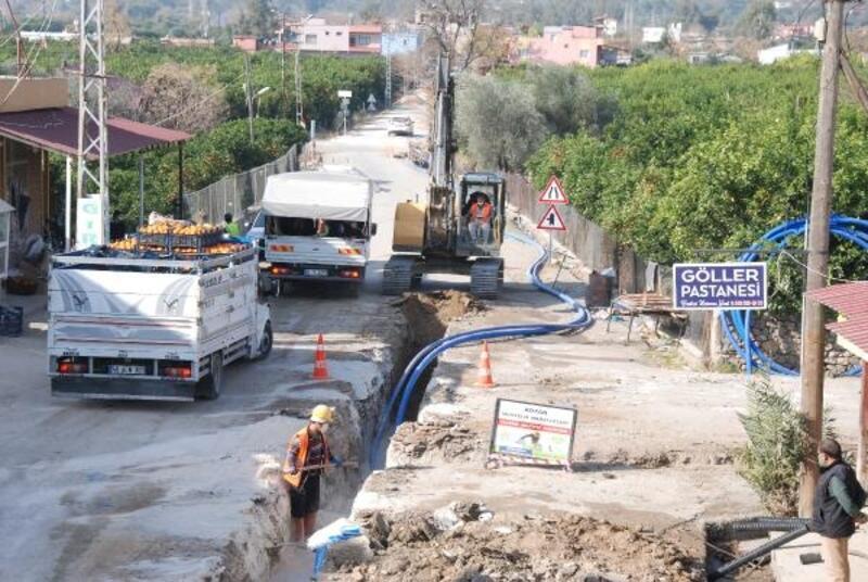 Kozan'da sağlıklı içme suyu için yoğun çalışma