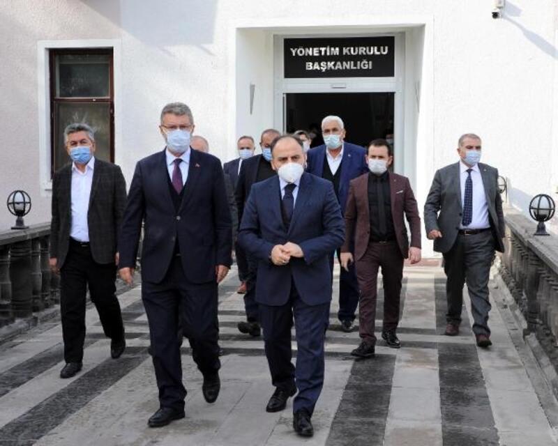Türkşeker Genel Müdürü Alkan'dan Başkan Akay'a taziye ziyareti